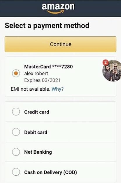 Amazon carding in simple step