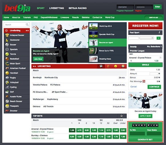 Know this betting secret and start winning in bet 9ja Gambling Game