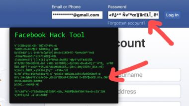 A step guide on how to hack a Facebook account with your mobile